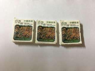 郵票(面值$1.7)