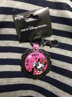 東京廸士尼樂園 2015萬聖節 米妮彷皮匙扣