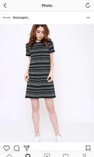 This Is April Green Knit Dress