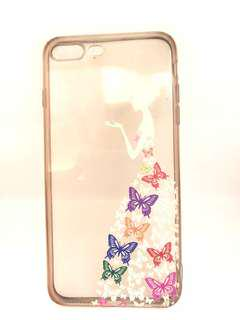 iPhone 7+/8+ Princess Butterfly Jelly Casing