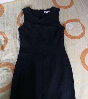 Japanese brand Viva le Vent Bodycon black dress