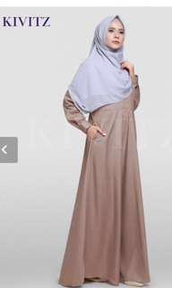 "Kivitz basic dress ""Brown"""