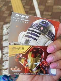 迪士尼門票兩張
