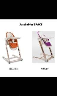 Justbabies space high chair
