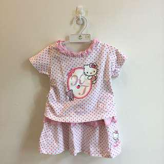 Hello Kitty two piece dress