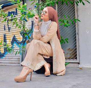 Zeenta Cardigan Abaya by Shawlpublika #reduced