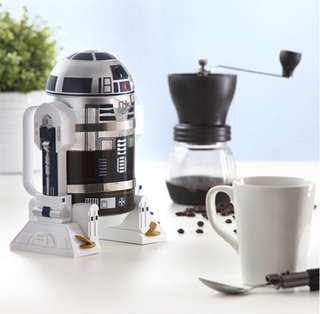 Star wars R2D2 Coffee Press starwars droid r2d2 coffee maker 32 oz 960ml