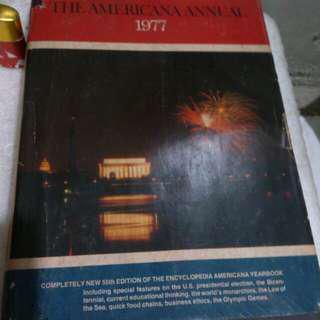 Americana annual1977