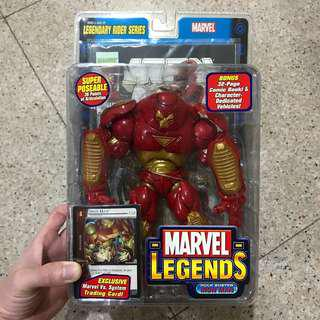MOSC Marvel Legends Legendary Rider Series Hulk Buster Iron Man (HulkBuster BAF Avengers Infinity War Tony Stark Disney Store Exclusive Select)