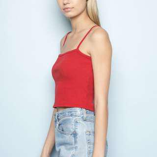 Brandy Melville Red Tank Top
