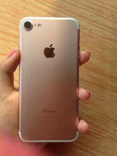 Iphone 7 rosegold