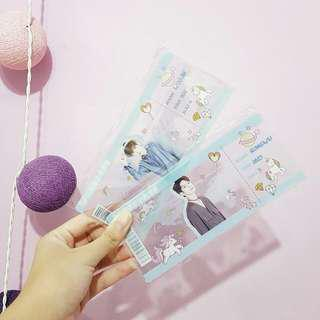 💣 WTS 💣 wannaone ong & woojin fansite boarding pass