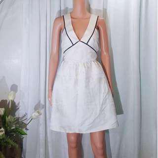 Mango inspired white dress