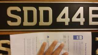 Beautiful & Nice Double Digits Plate Number For Sale