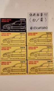 Tomytec Honda Civic Ek9 (1999,1997) 每款各一部