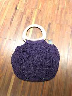 🚚 毛料手提包
