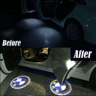 BMW Door Courtesy LED interior projector lights with original BMW logo