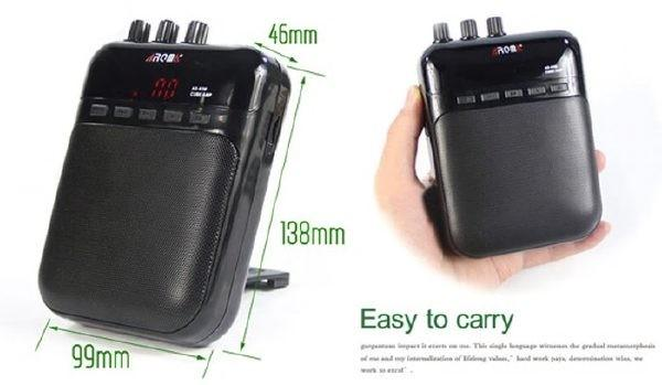 多合一充電結他音箱 AROMA AG-03M Mini Electric Guitar Amp  5W Portable Guitar Amplifier