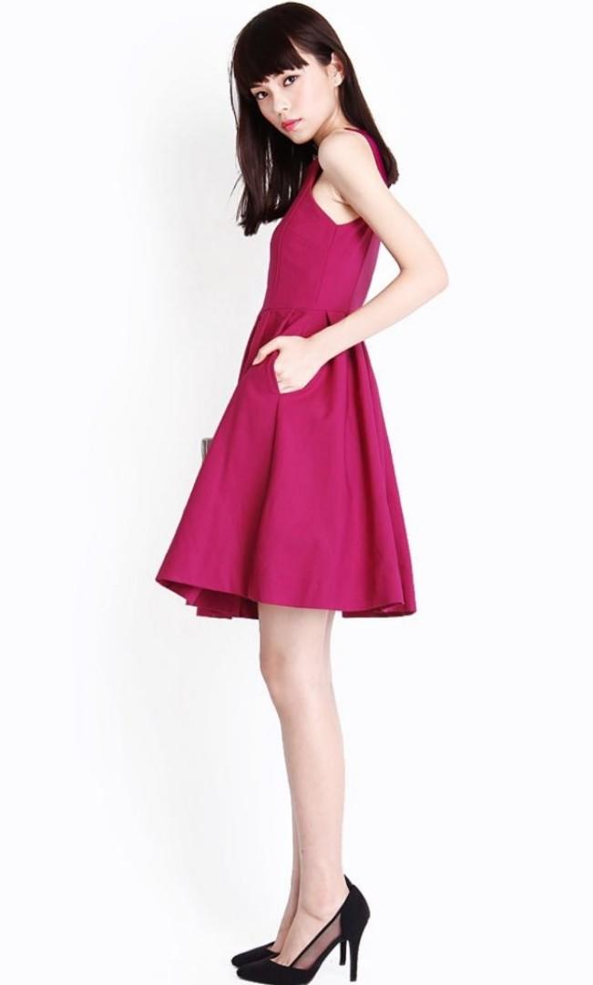 d6bed230385ed6 AFORARCADE AMBROSIA MIDI DRESS, Women's Fashion, Clothes, Dresses ...