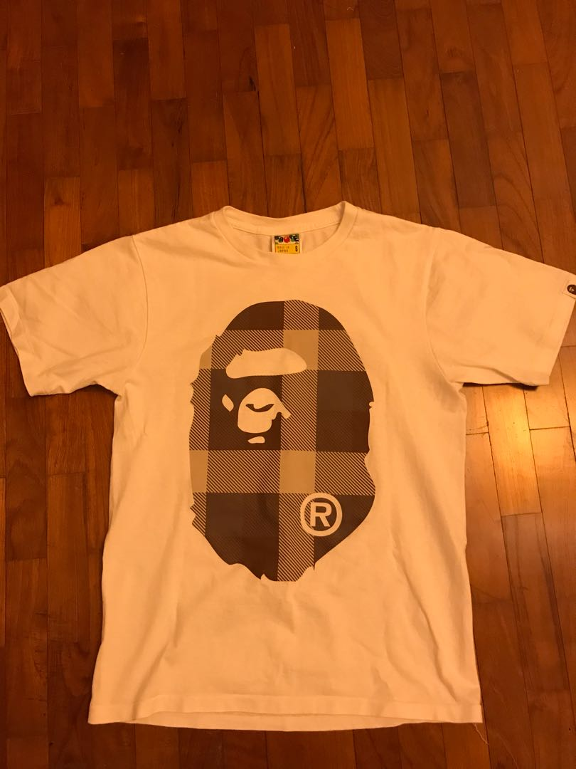 57896e1d8 Authentic bathing Ape tee, Men's Fashion, Clothes, Tops on Carousell