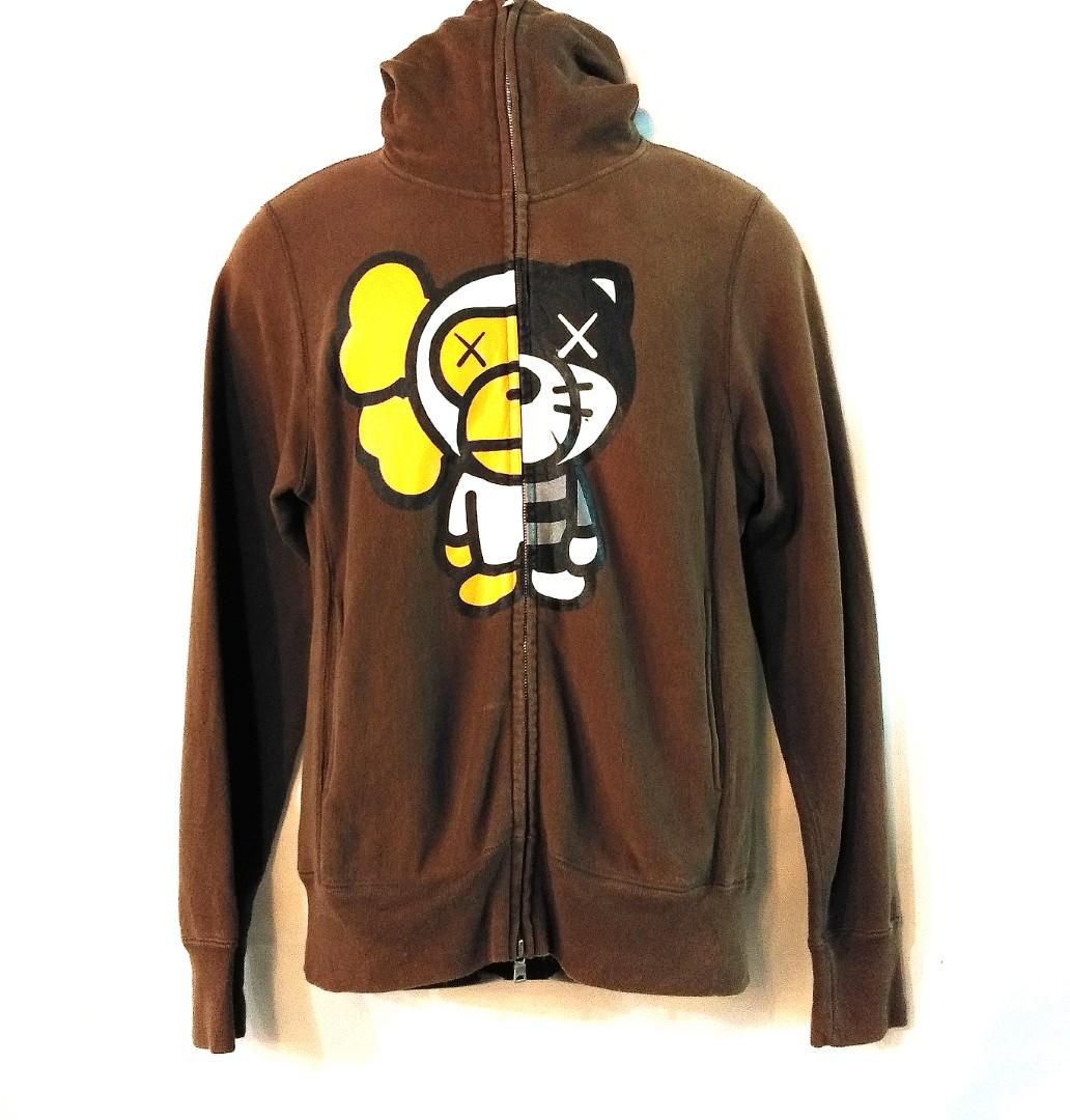 BAPE x BABY MILO x CAWS Sweater Hoodie fa662a7d84ac