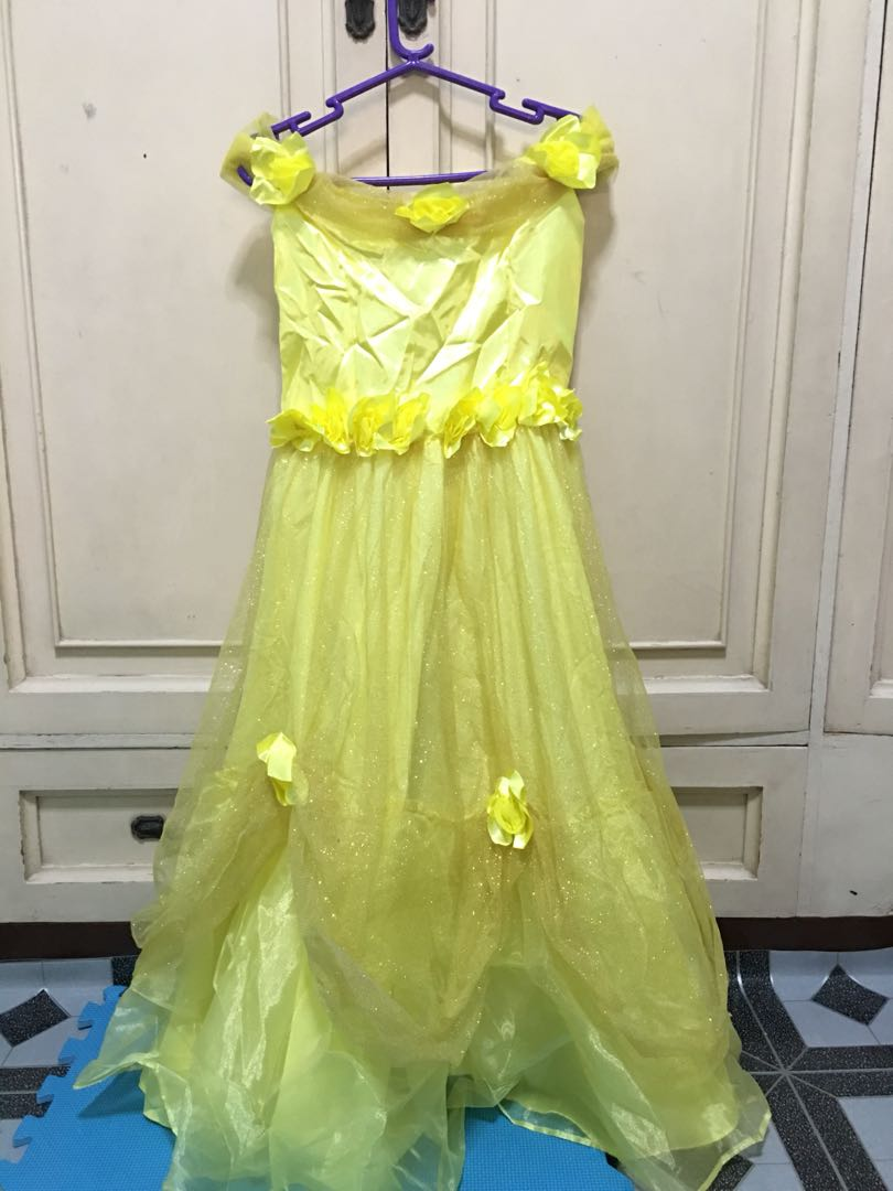 Belle Beauty And The Beast Inspired Gown On Carousell