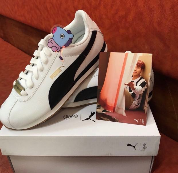 BTS X Carousell PUMA TURIN, Damens's Fashion, Schuhes, Sneakers on Carousell X 497d2f