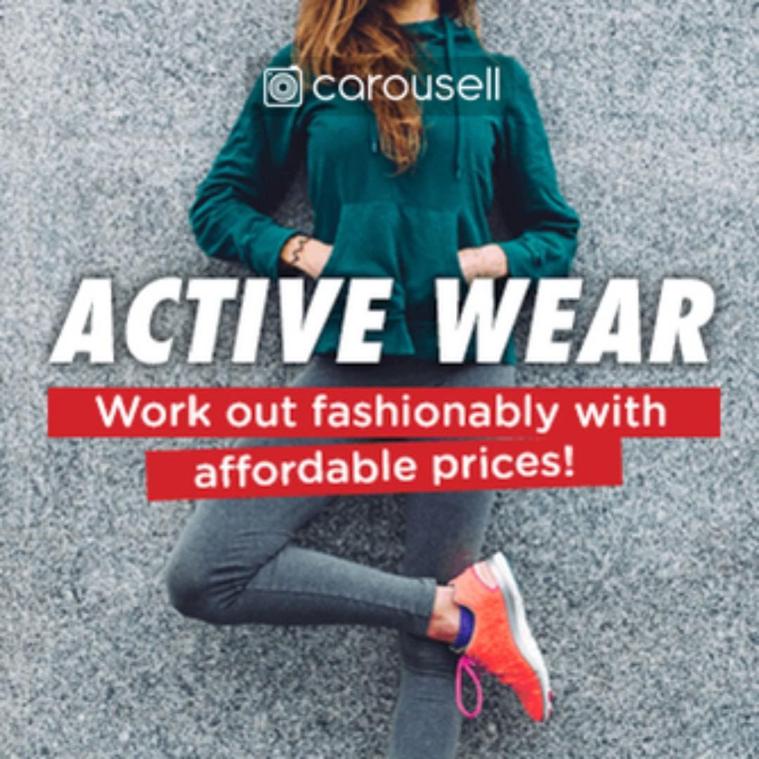 CAROUSELL GROUP: Active Wear