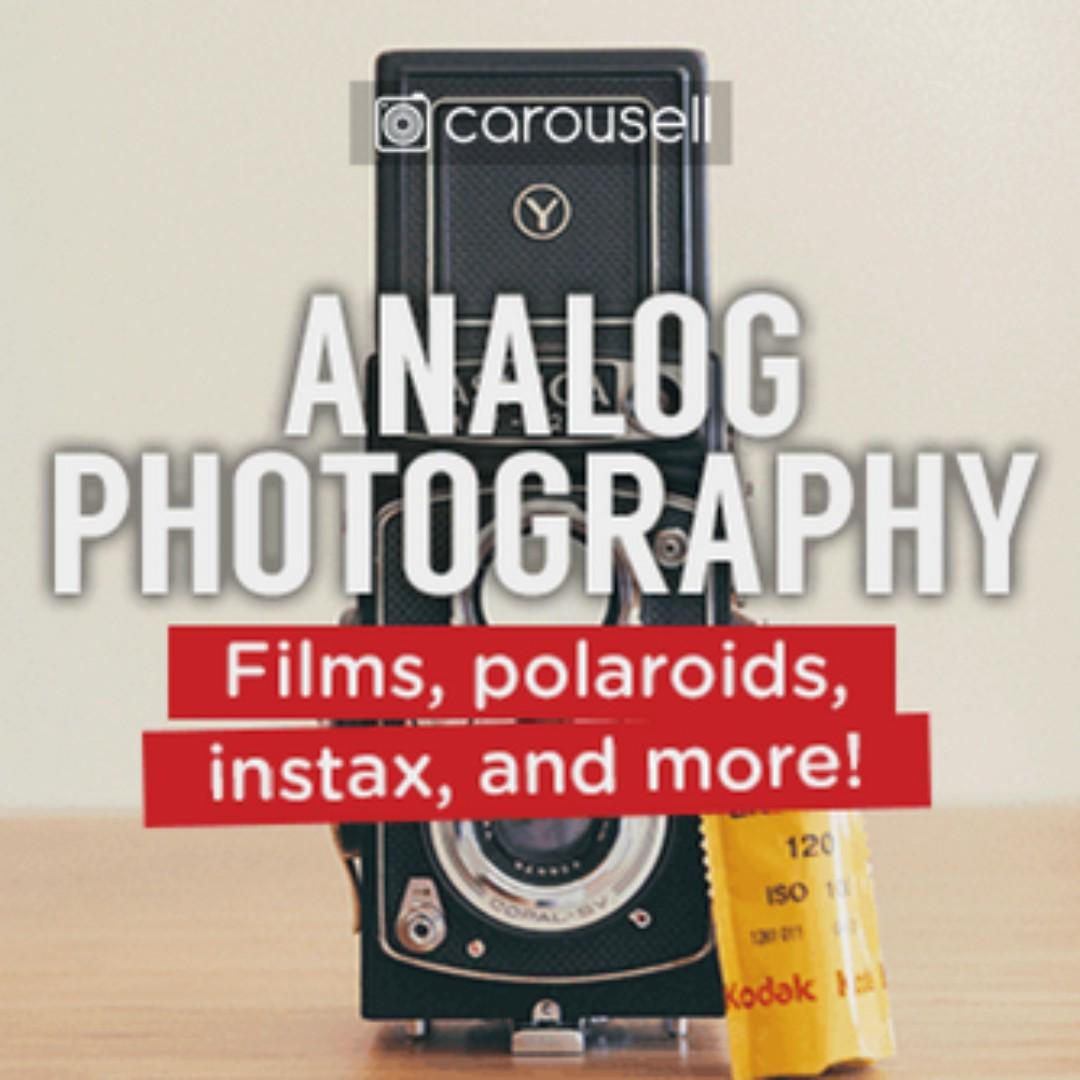 CAROUSELL GROUP: Analog Photography