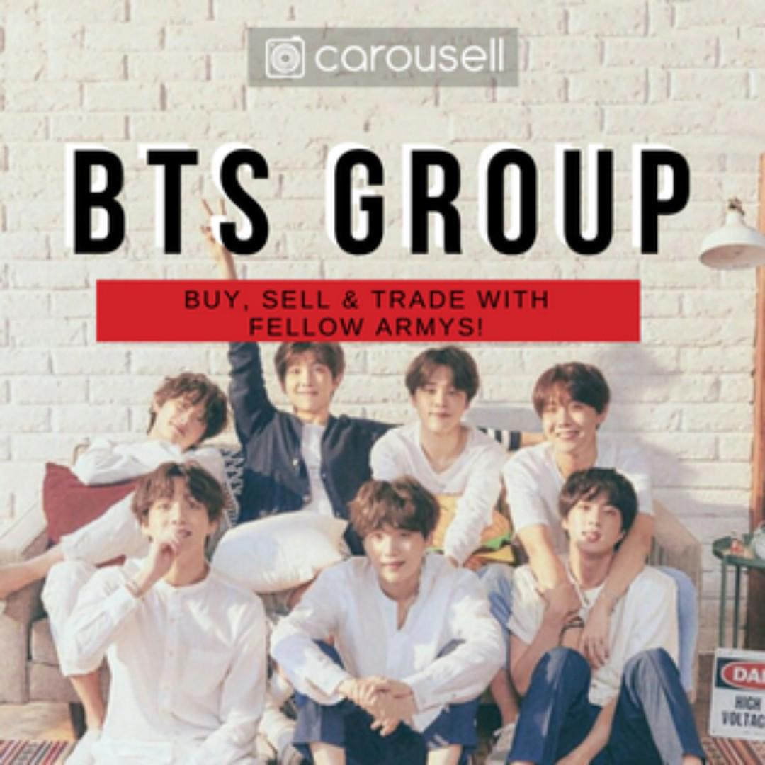 CAROUSELL GROUP: BTS (ARMYs Buy & Sell)