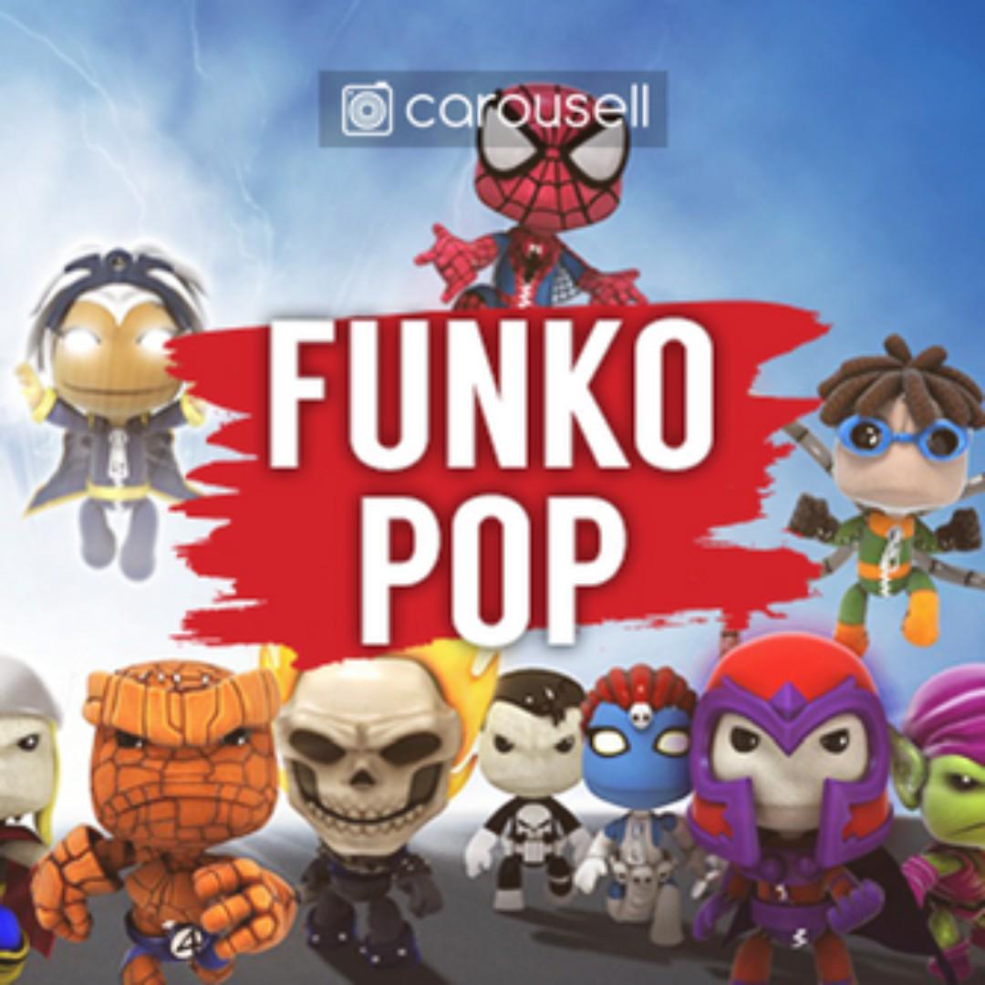 CAROUSELL GROUP: Funko Pop