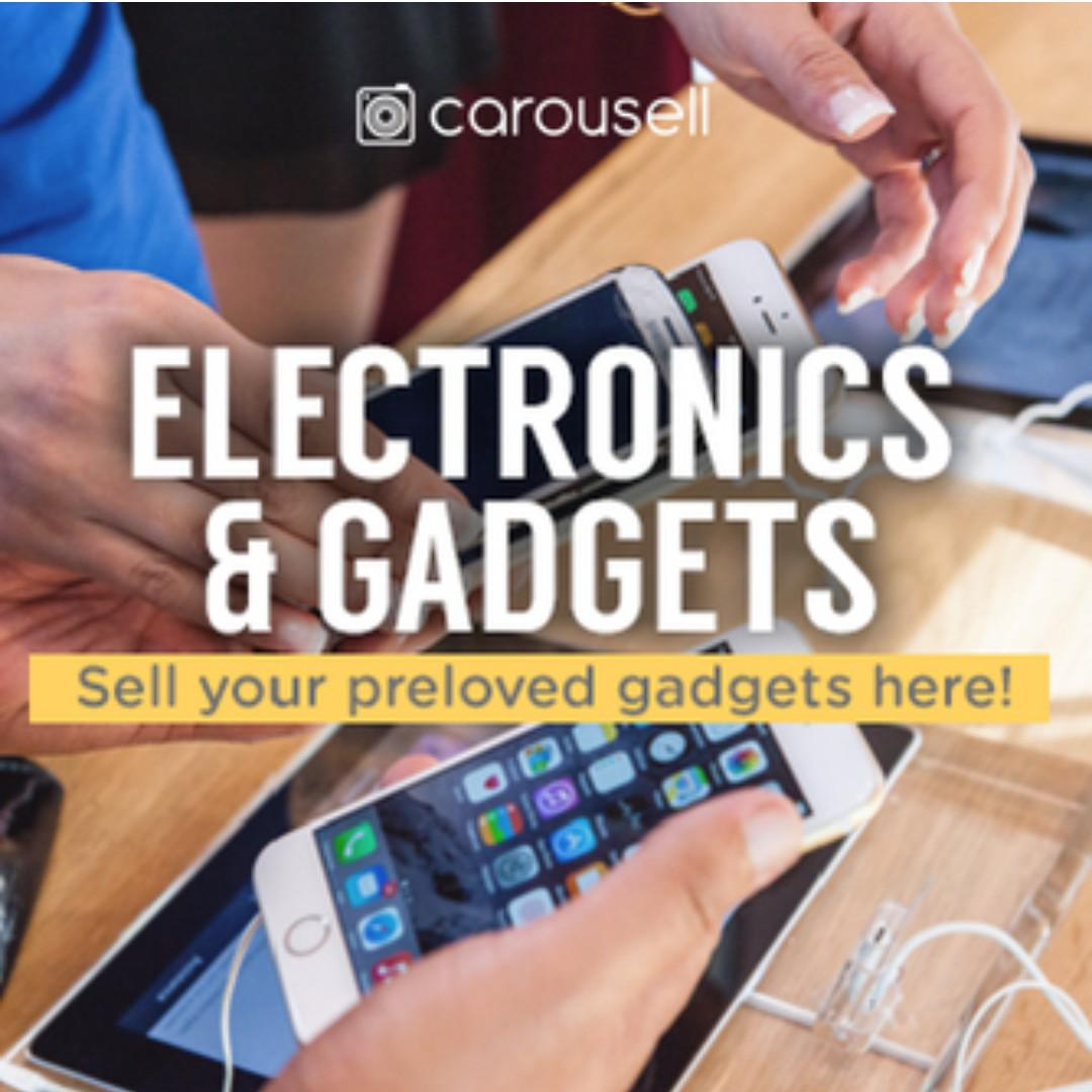 CAROUSELL GROUPS: Electronics & Gadgets