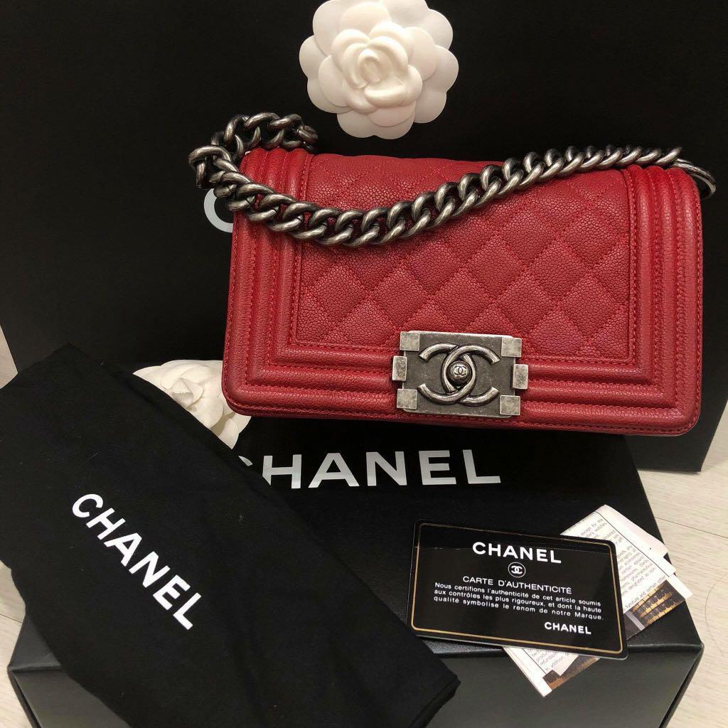Chanel Boy Mini (Authentic)
