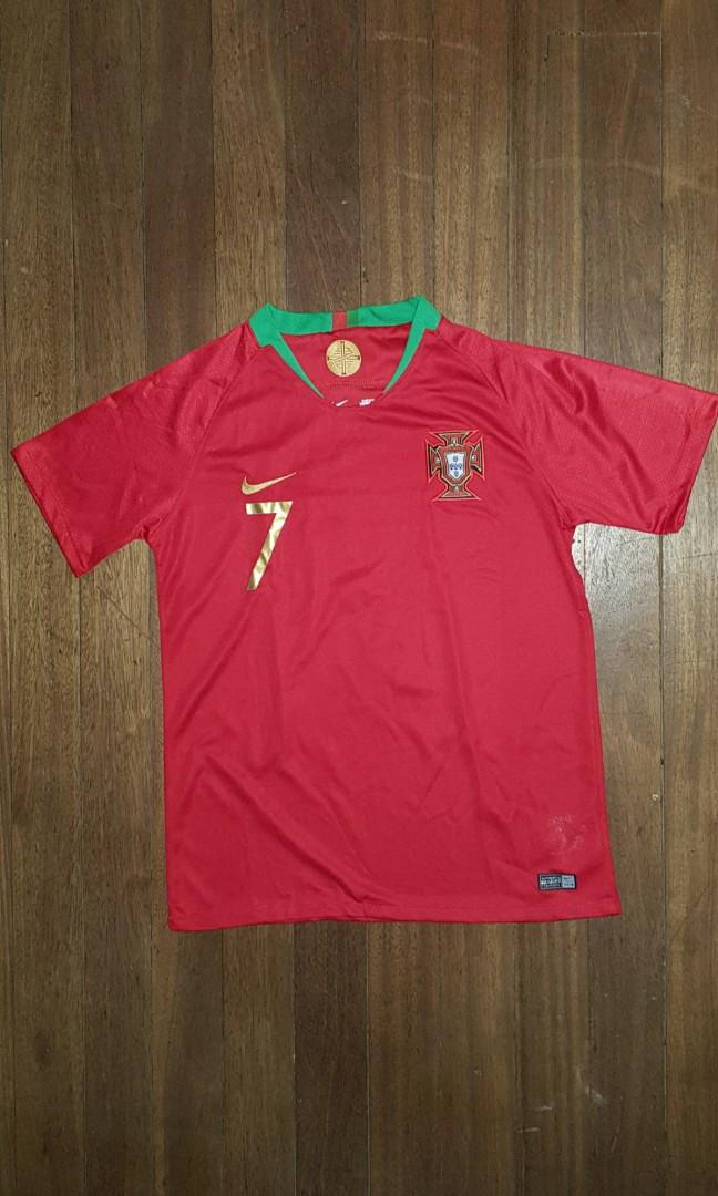 huge discount 08093 0c4be Cristiano Ronaldo Portugal Jersey World Cup 2018 Nike on ...