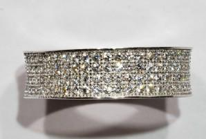 Eternity Style Cubic Zirconia Band, Size: 7