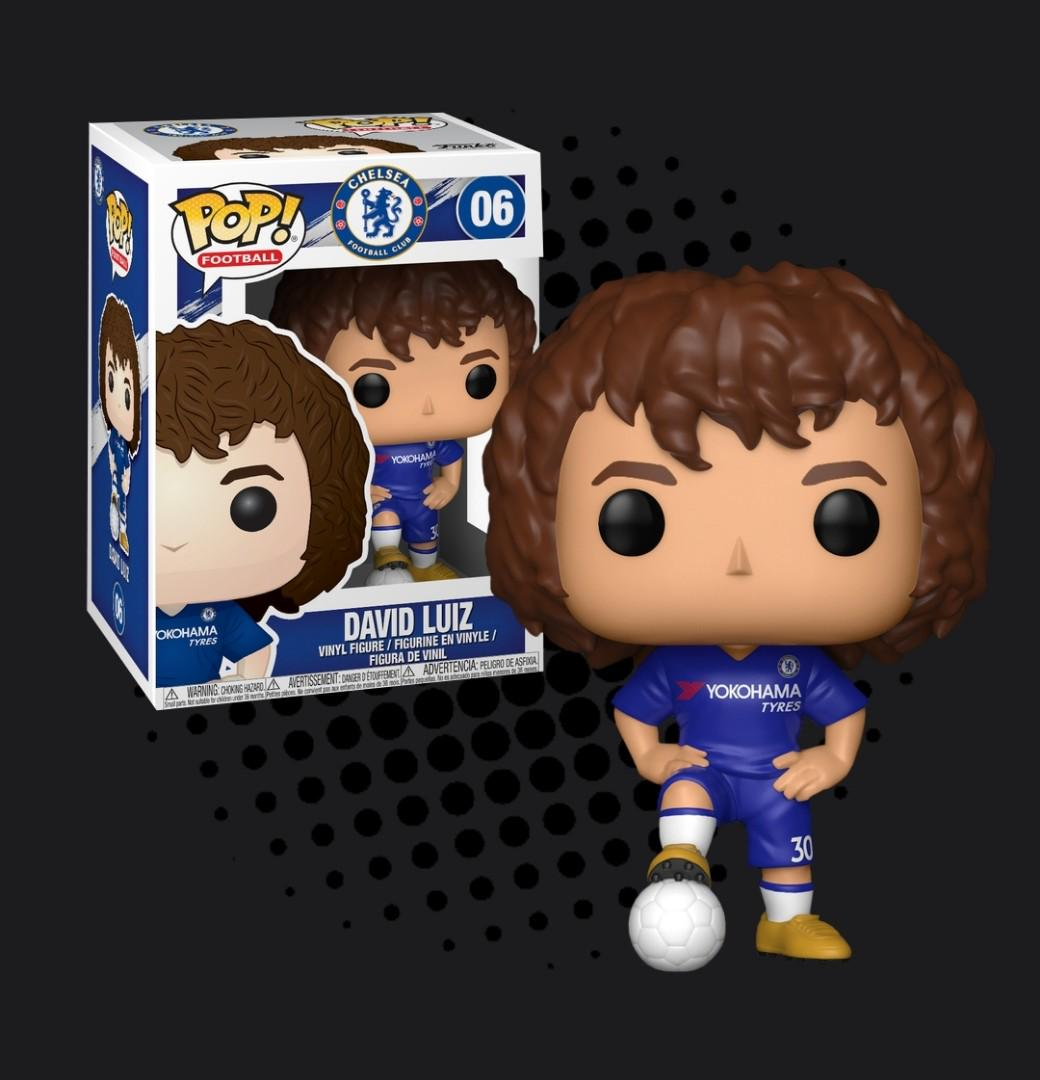 pop Funko Vinyl Chelsea EPL David Luiz Pop