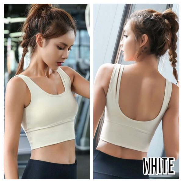 99389df00e5 GG: Firm Support Sports Bra, Sports, Sports Apparel on Carousell