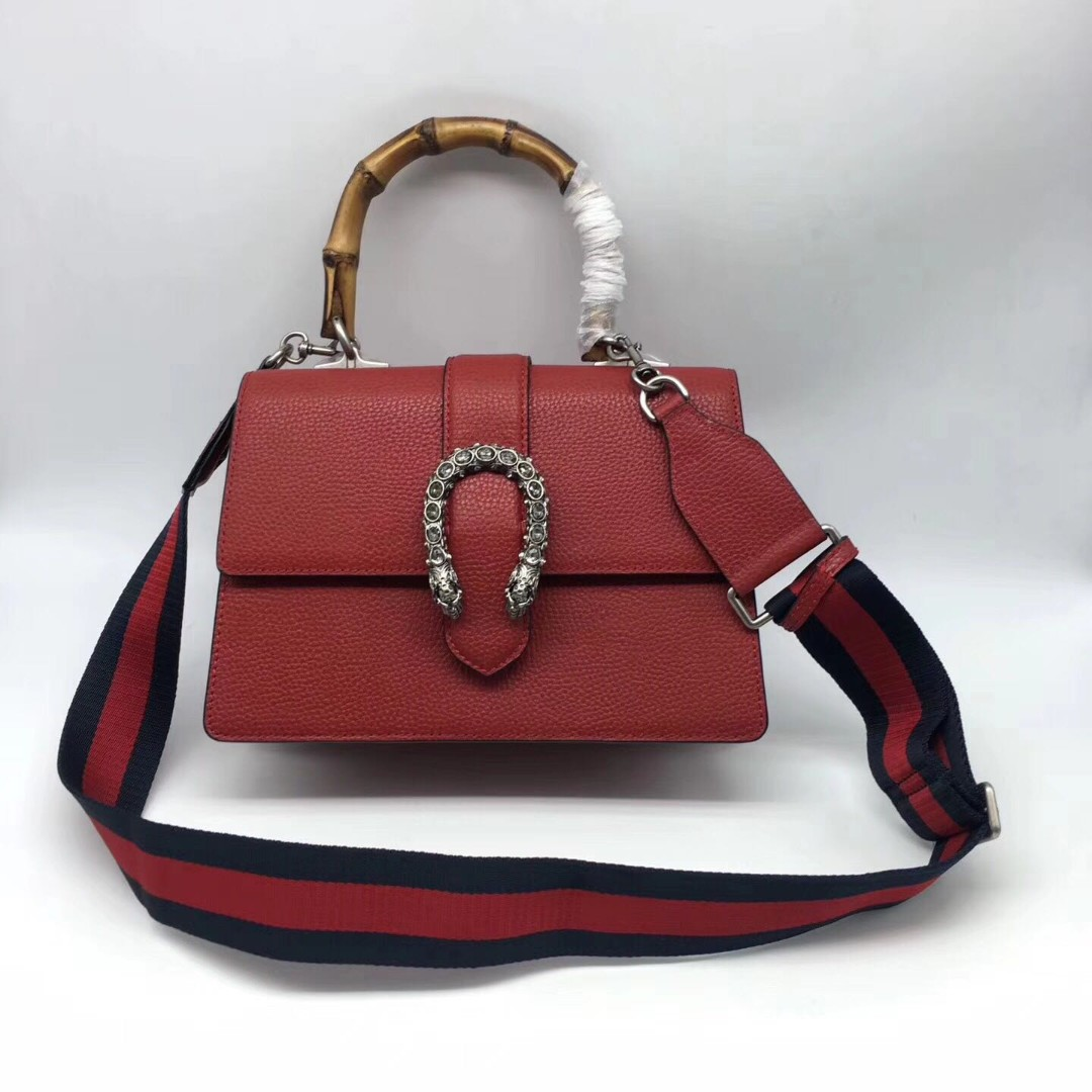 f21533b5a1 Gucci Leather Top handle Dionysus Sling bag