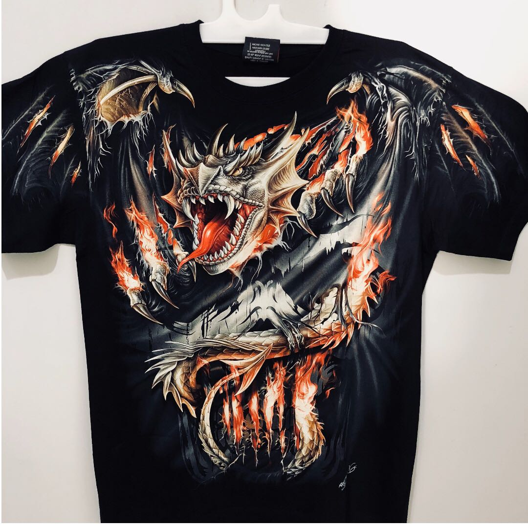6a4a7e8456cf HD 3D TShirt really good quality!, Men's Fashion, Clothes, Tops on Carousell