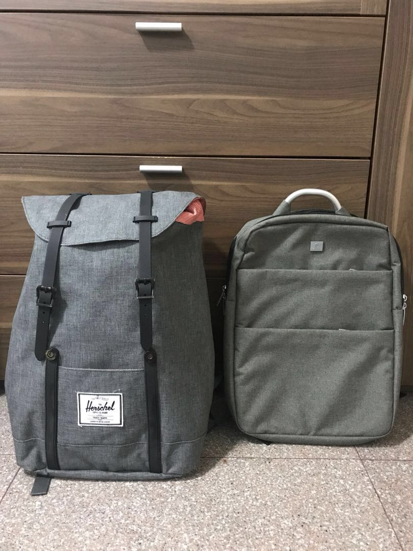 21891103eff9 Hershel retreat and office backpack