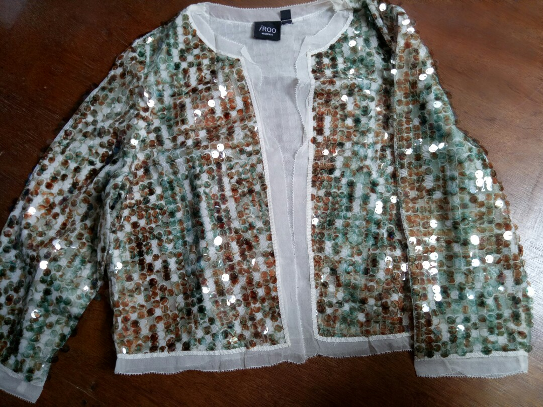 f47f4e64 Imported Sequined Coat, Women's Fashion, Clothes, Outerwear on Carousell