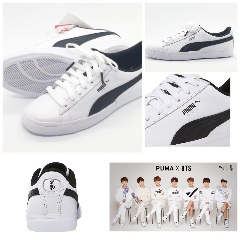 IN STOCK  PUMA X BTS COURT STAR SHOES (SIZE  7   260 ... afde40823