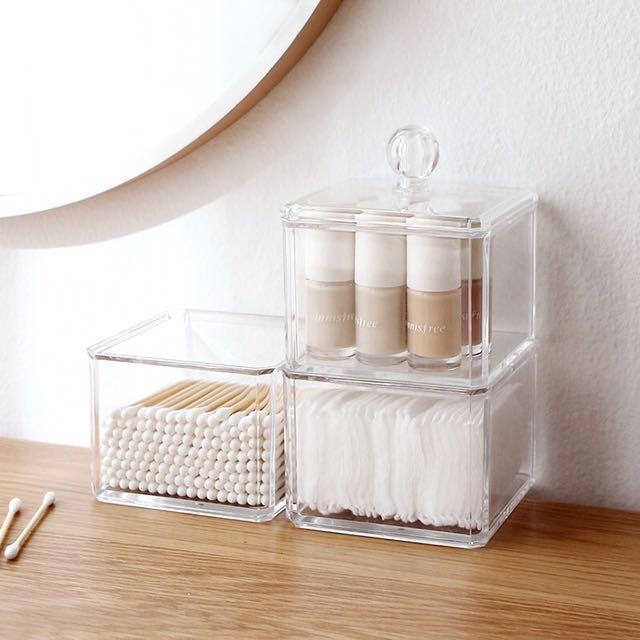size 40 9da47 80669 (Instock) Clear Acrylic Vanity Storage Organizer