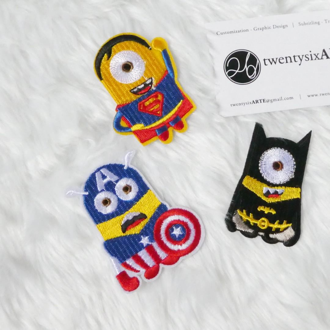 Iron On Patch | Avengers Minions [Currently OOS]