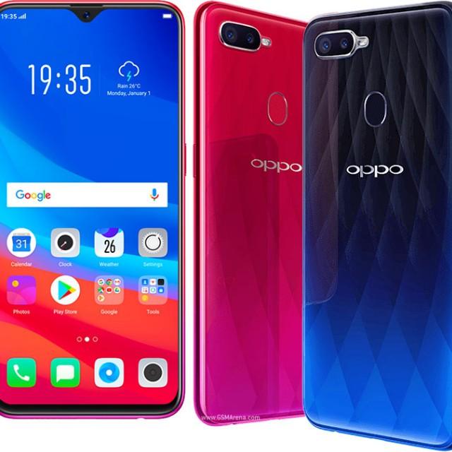 Kredit Handphone Oppo F9 Sunrise Red Mobile Phones Tablets