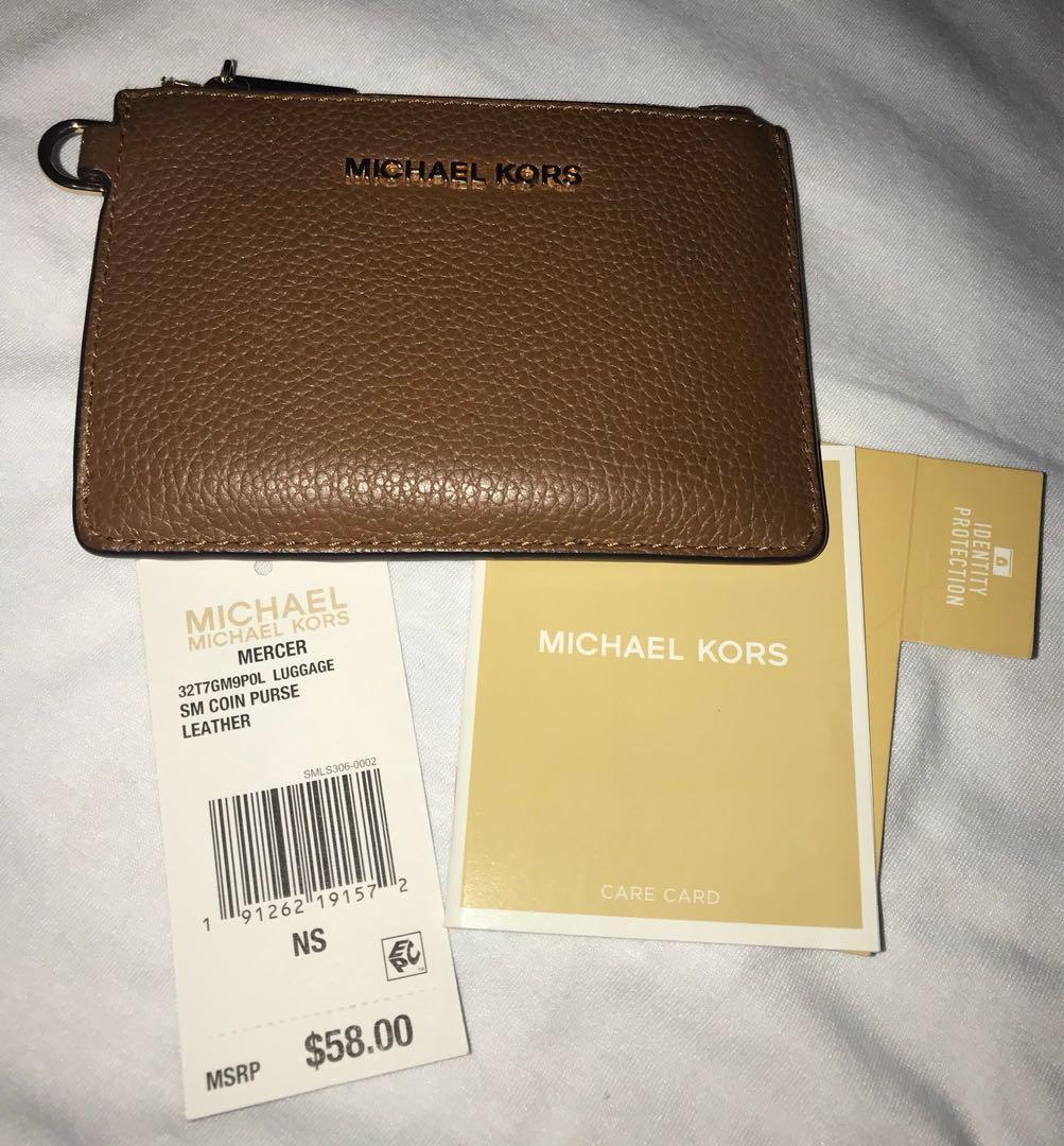 e154c6ba0e45 Michael Kors Wallet Coin Purse mk coach kate spade, Women's Fashion, Bags &  Wallets on Carousell