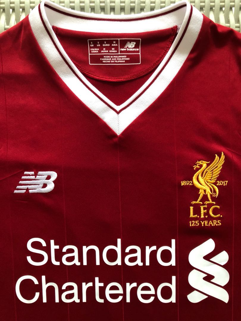 huge selection of 0f881 10fd8 New Balance (NB) 💯% Authentic Liverpool home red jersey ...