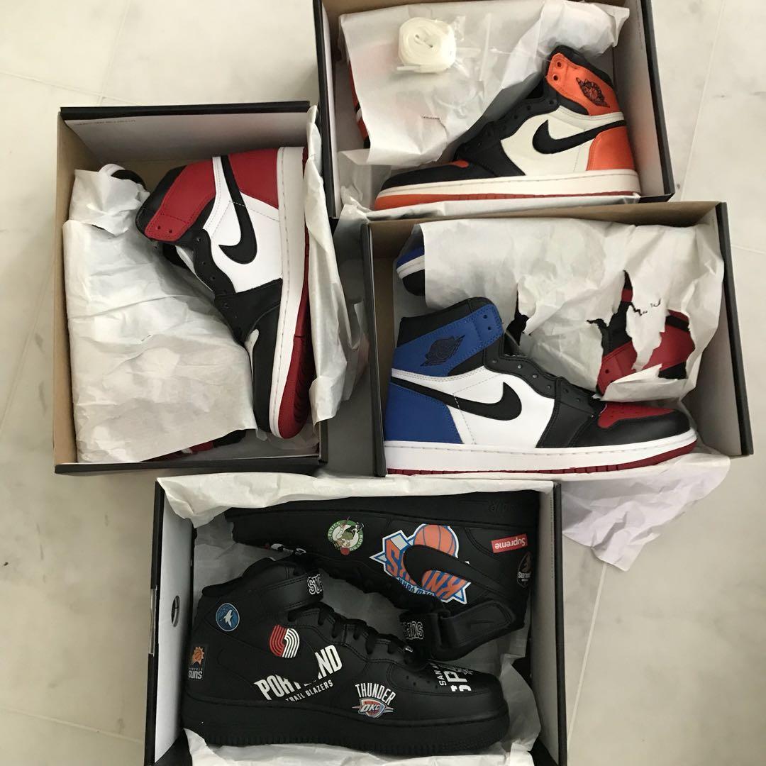 4b3f0e41c17 Nike Air Jordan 1 Grails