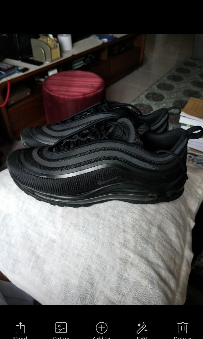 Nike air max 97 triple black dbf34ce51