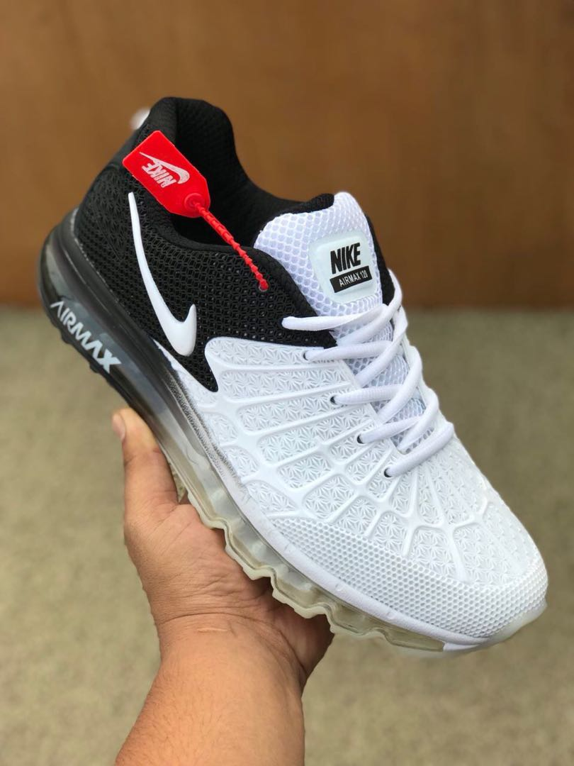 separation shoes 1dae4 67772 Nike Airmax 120 Emergent/ White Black